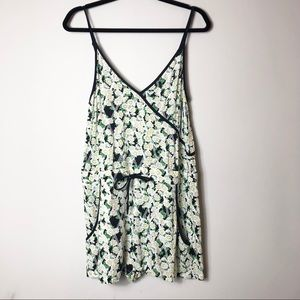 French Connection Floral Romper